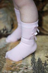 Satin Ribbon Knee-High