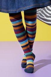 Colourful Stripe Tights