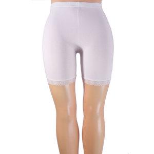 Short legging met kant wit